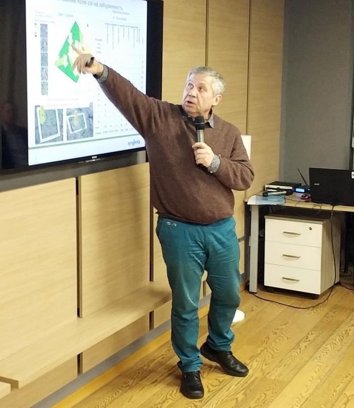 Олександр Зозуля, керівник групи техекспертів «Сингента Україна», стверджує, що похибка між результатами обстеження полів за допомогою БПЛА і традиційним візуальним спостереженням не перевищує кількох відсотків