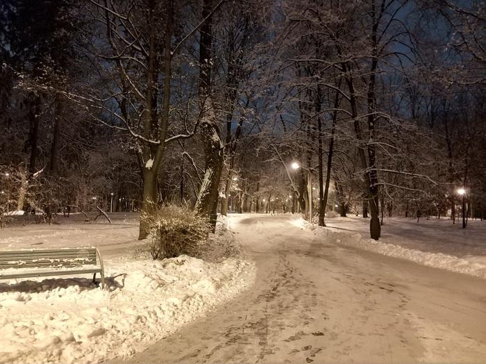 Фото вночі, режим HDR