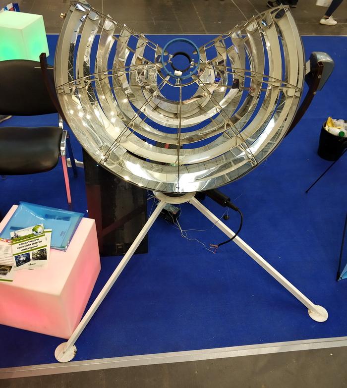 Макет концентратора сонячного випромінювання