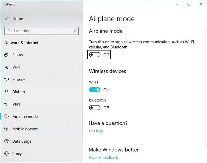 Режим літака, як правило, вмикається на ноутбуку натисканням комбінації двох кнопок, але іноді навіть однієї кнопки
