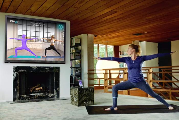 Розумний одяг для йоги допоможе правильно виконувати вправи вдома
