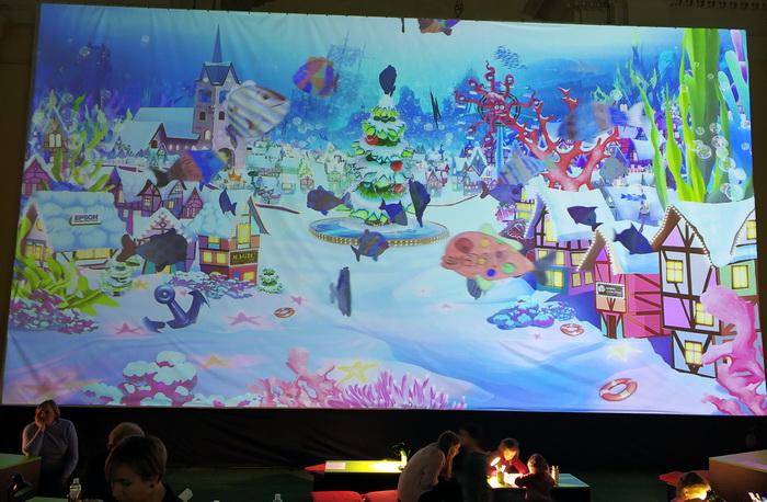 Віртуальний акваріум, де кожний охочий може намалювати та запустити в акваріум рибку
