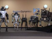 Новий двоколісний робот Boston Dynamics. Відео
