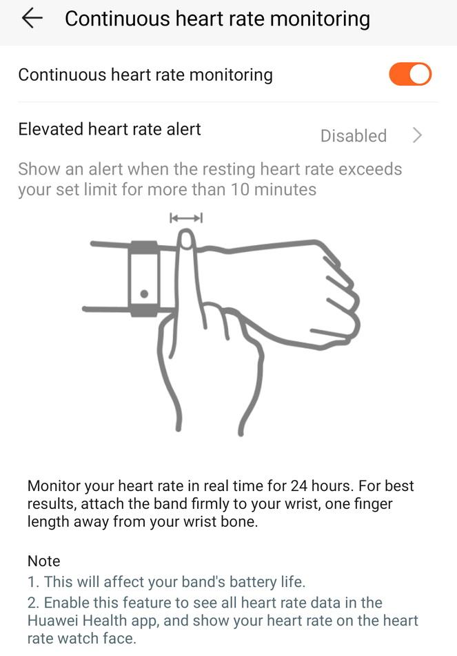 Щоб точно виміряти пульс, треба правильно розташувати браслет. В іншому випадку пристрій може видавати дуже неточний результат