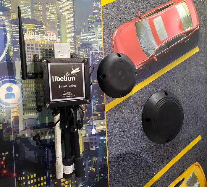 Сенсор для визначення вільних місць на паркінгу
