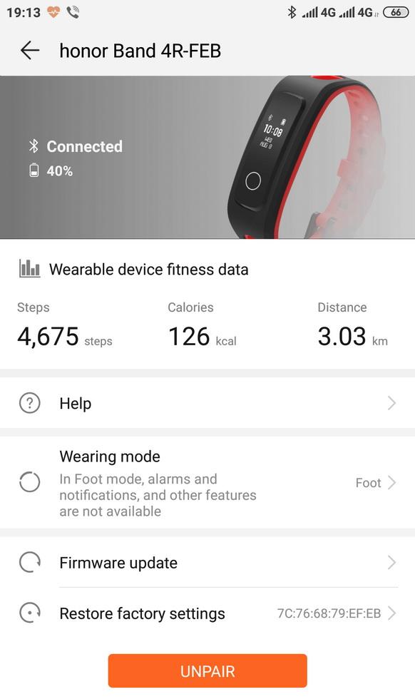 Інформацію щодо фізичної активності можна отримати на екрані смартфона