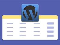 Как создать таблицу на WordPress
