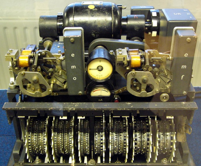 Lorenz SZ 40, в якій застосовувався метод Вернама