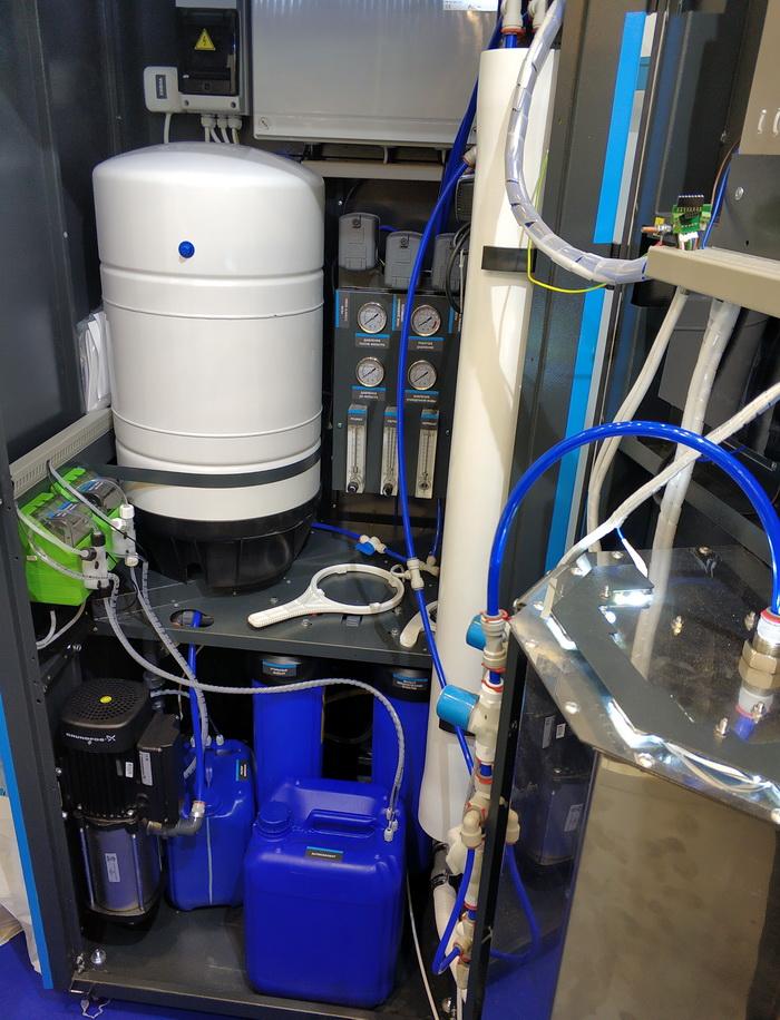 Великі промислові очищувачі води Ecosoft