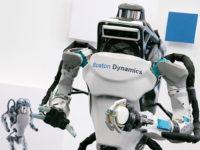 Пародія на робота Atlas від Boston Dynamics. Відео