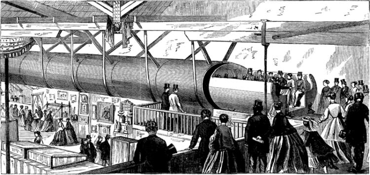 Історія пневматичної пошти — того з чого зародилася ідея Hyperloop