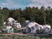 Екологічні будикнки-куполи від стартапу Geoship