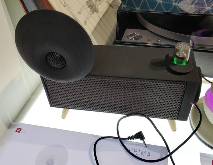 2-полосна акустична система Prima, також на електронних лампах