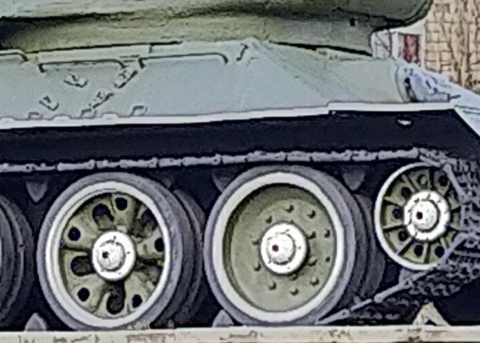 Кроп фотографії з двократним цифровим зумом
