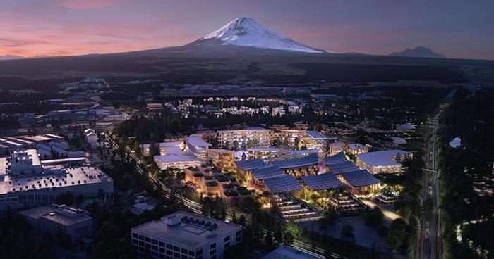 Місто майбутнього від Toyota