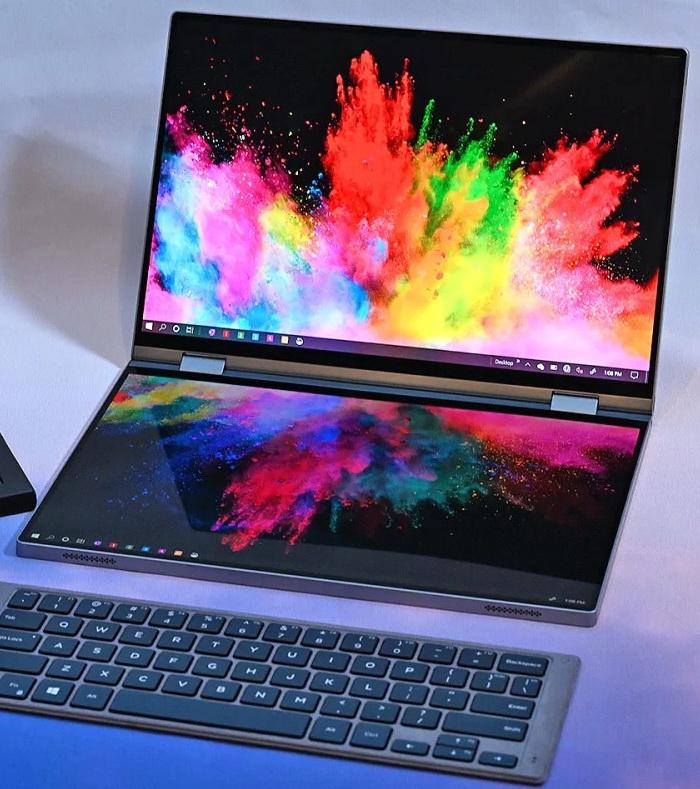 Dell Concept Duet з двома повнорозмірним екранами