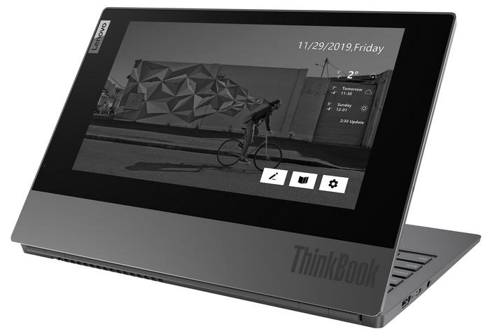 Lenovo ThinkBook Plus з додатковим E-Ink екраном