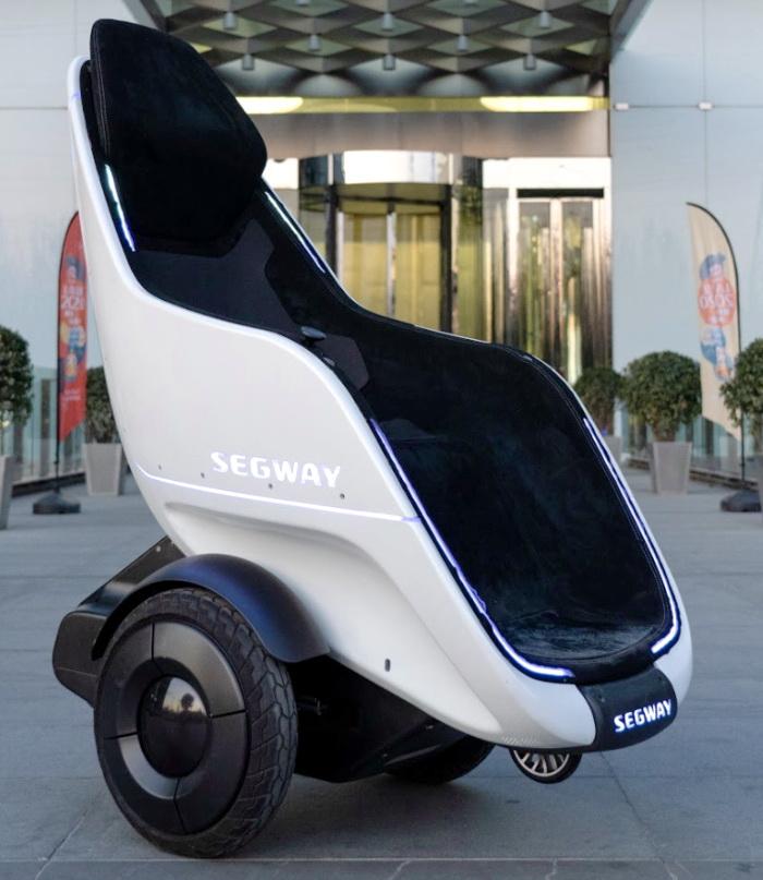 Segway S-Pod – швидкий. маневрений, але важкий