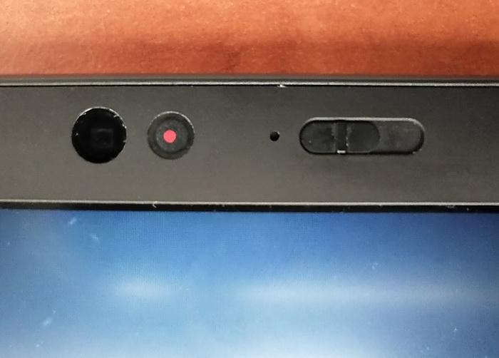 Механічна шторка для відеокамери може стати на заваді при автентифікації через розпізнавання обличчя
