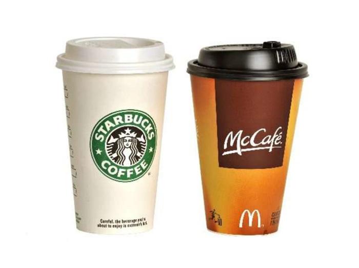 Багаторазові стаканчики від McDonald's і Starbucks