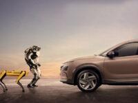 Танець робопсів Boston Dynamics на честь приєднання компанії до Hyundai Motor. Відео